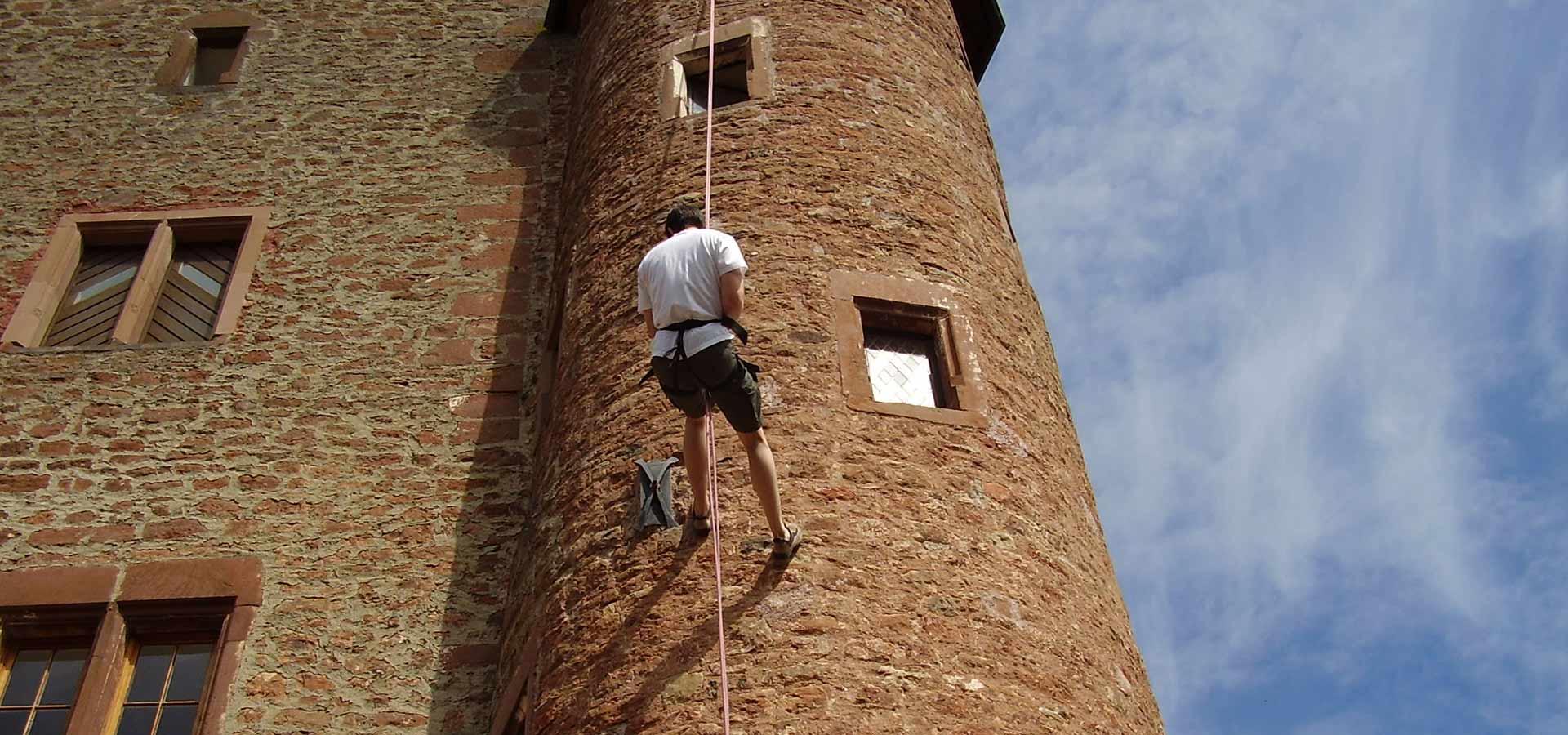 Schloss Hamm Klettern